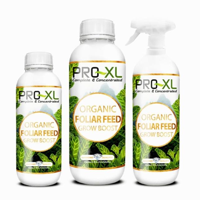Organic Foliar Feed Growth Boost Pro XL