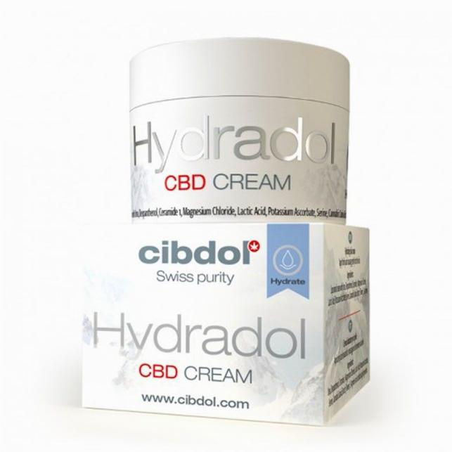 Hydradol Crema CBD de Cibdol
