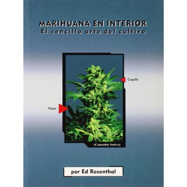 """Libro """"Marihuana en Interior"""" (Castellano)"""