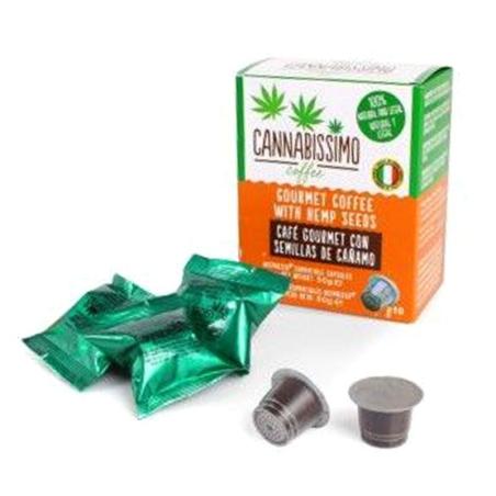 Café Cannabissimo en cápsulas