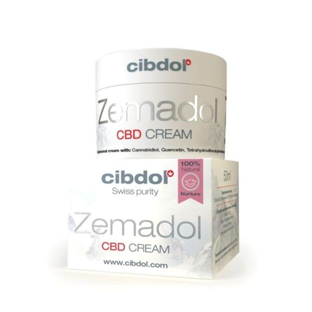 Zemadol crema CBD de Cibdol