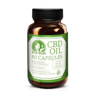 Capsules CBD Sensi Seeds