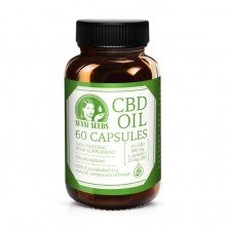 CBD capsules Sensi Seeds