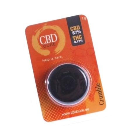 Crumble CBD 87% CBD Cure