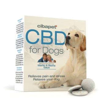 Pastillas CBD para perros Cibapet