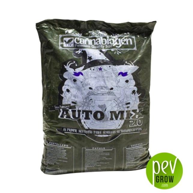 Sustrato auto mix 2.0 Cannabiogen