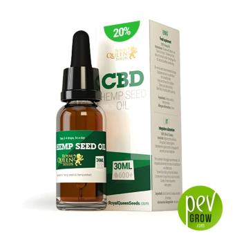 Aceite de semillas de cáñamo CBD 20% Royal Queen