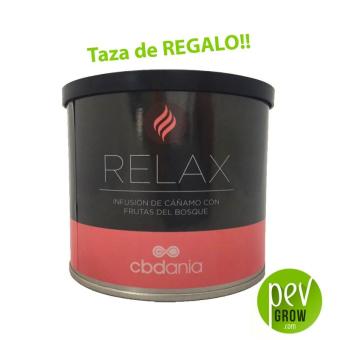 Infusion relax chanvre aromatisé aux baies