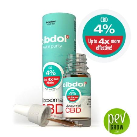 Aceite de CBD Liposomal Cibdol - 4%