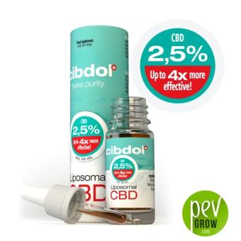 Aceite de CBD Liposomal Cibdol - 2,5%