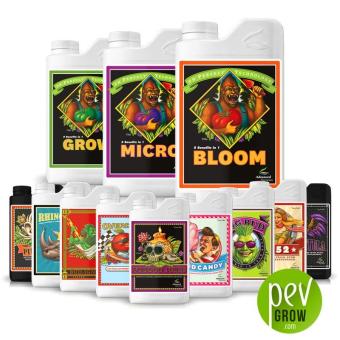 Grow-micro-bloom + aditivos Professional