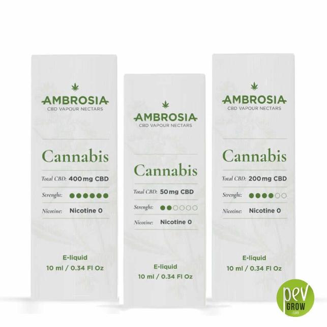 E-Liquide CBD Ambrosia Cannabis