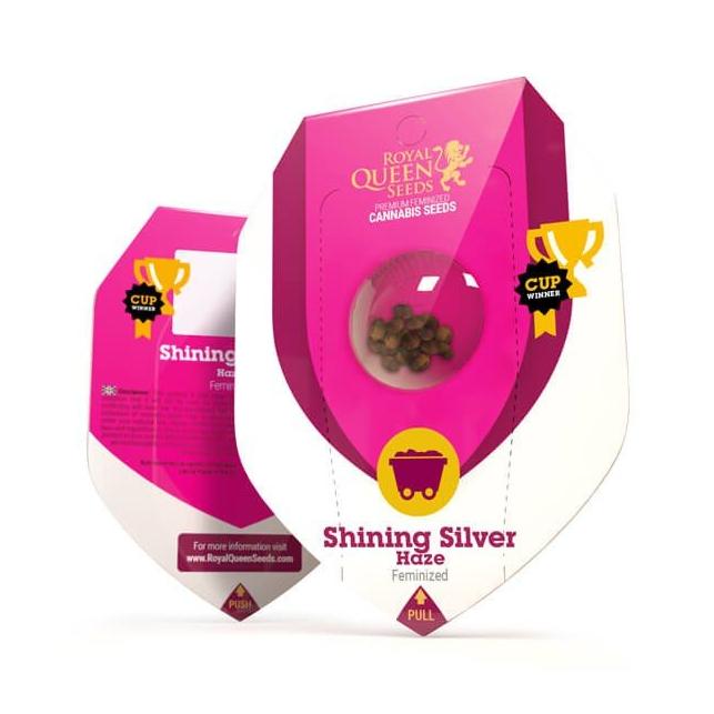 Shining Silver Haze - Royal Queen Seeds