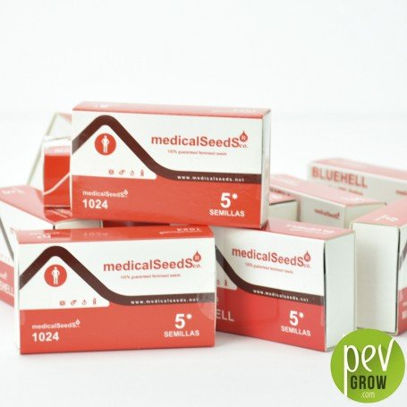 Protective packaging of Medical Seeds, 1024 format of 5 seeds.