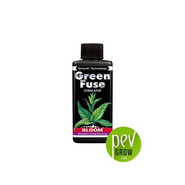 Greenfuse Bloom Ionic, estimulador de floración , en botella negra formato de 100ml.