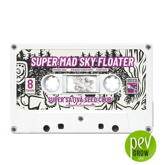 Super Mad Sky Floater - Super Sativa Seed Club