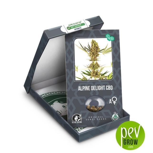 Alpine Delight CBD Auto package - Sensi Seeds