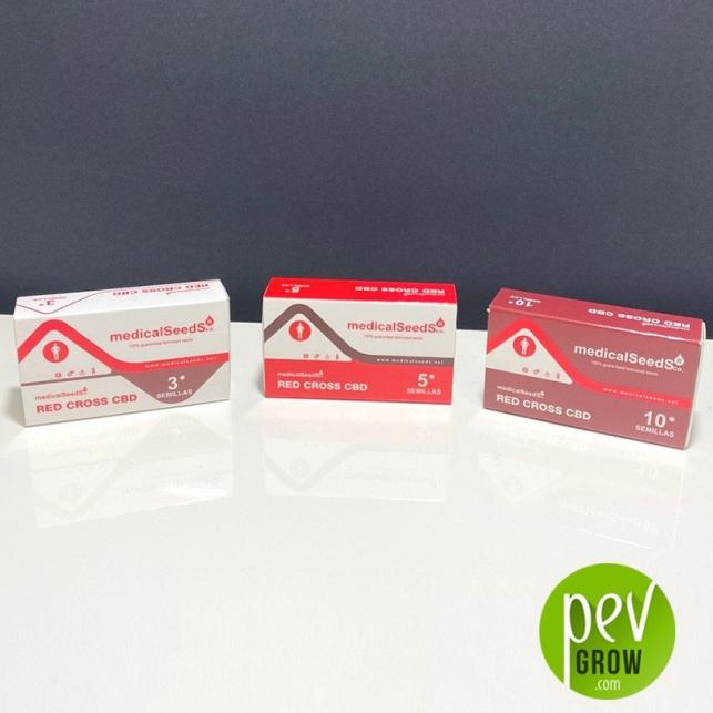 Red Cross CBD - Medical Seeds