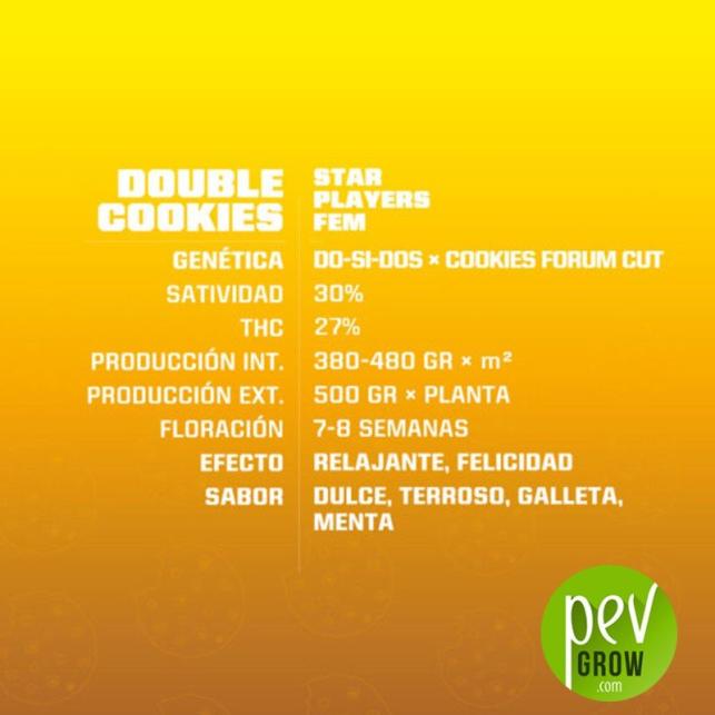 Double Cookies - BSF Seeds