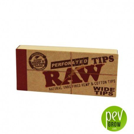 Wide Tips Perforadas RAW
