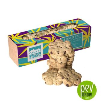 Biscuits avec farine de chanvre