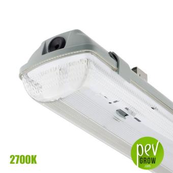 Luminaria LED Estanca 120 cm. 35w Sysled 2700K