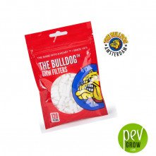 Cotton filters 6 mm. The Bulldog