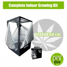Complete Indoor Growing Kit 80X80X160 cm.