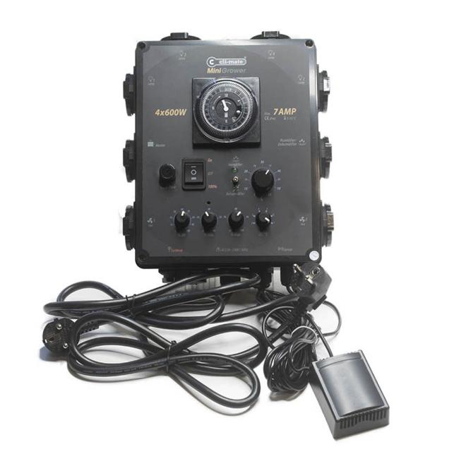 Cli-Mate Mini Controlador 4x600w