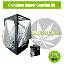 Complete Indoor Growing Kit 120X120X200 cm.