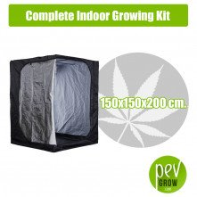 Complete Indoor Growing Kit 150x150x200 cm.