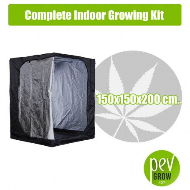 Kit Cultivo Interior Completo 150x150x200 cm.
