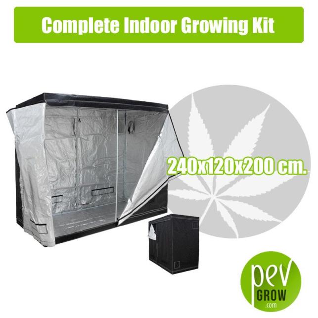 Kit Cultivo Interior Completo 240x120x200 cm.