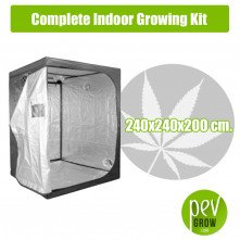 Complete Indoor Growing Kit 240X240X200 cm.