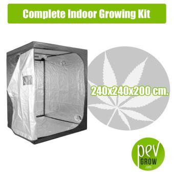 Kit Cultivo Interior Completo 240X240X200 cm.