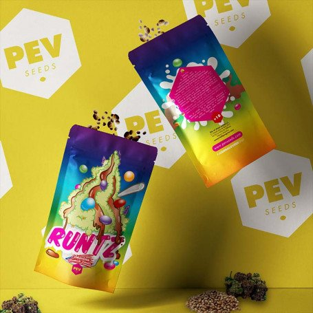 Runtz envase - PEV Bank Seeds