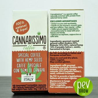 Café Cannabissimo en capsules
