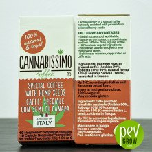 Cannabissimo coffee in capsules