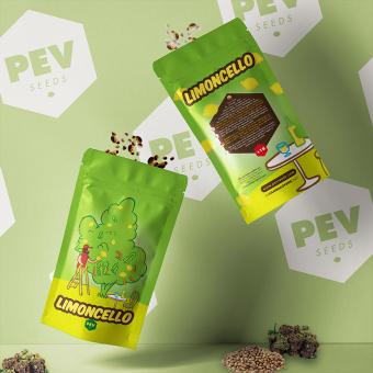 Limoncello PEV Bank Seeds envase