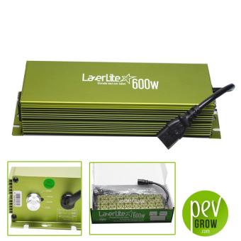 Ballast électronique Lazerlite 600w