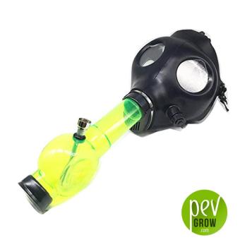 Máscara de gas bong