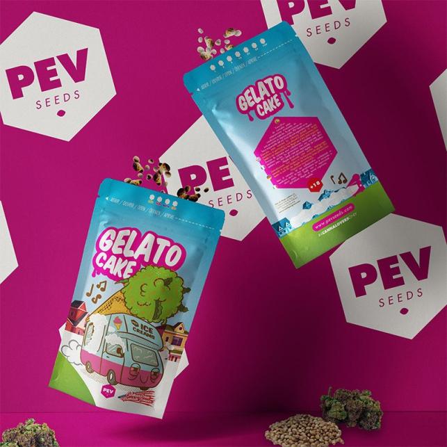 Gelato Cake - PEV Bank Seeds