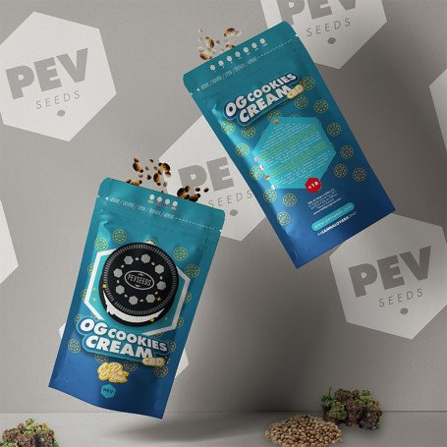 OG Cookies Cream CBD - PEV Bank Seeds