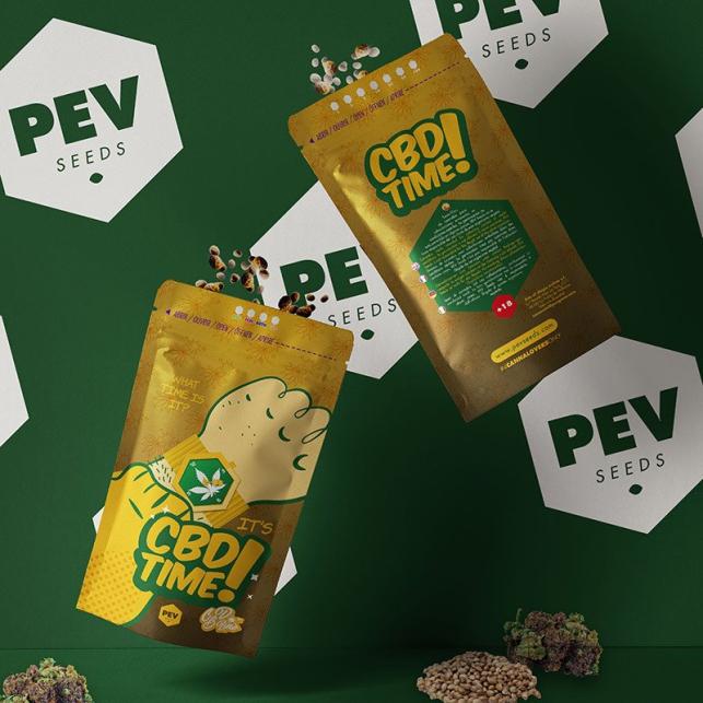 CBD Time PEV Bank Seeds