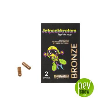 Kratom Gold (JetpackKratom) 2 cápsulas