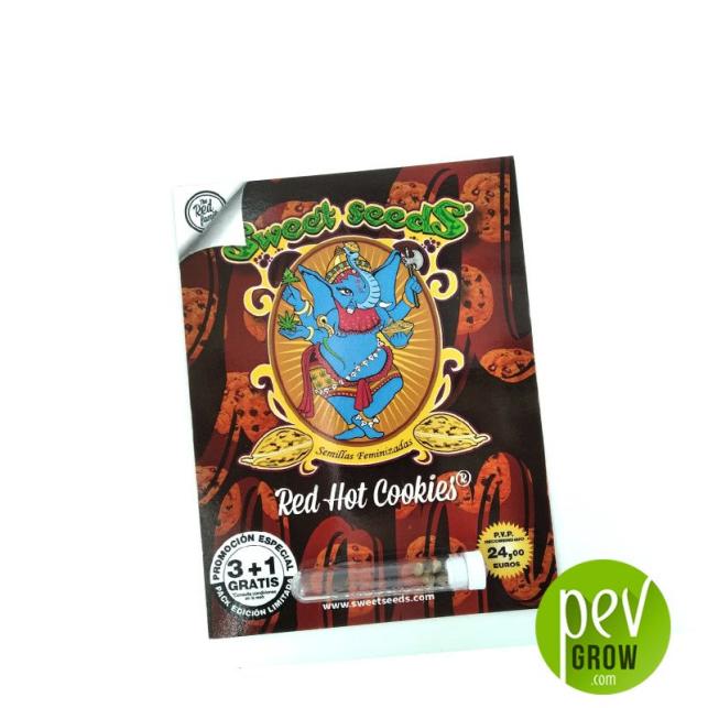 Red Hot Cookies - Sweet Seeds