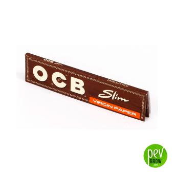 Papel OCB Slim Virgin (No Blanqueado)