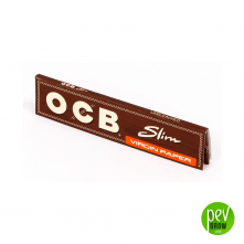 Papel OCB Slim Virgin (No Blanqueado)