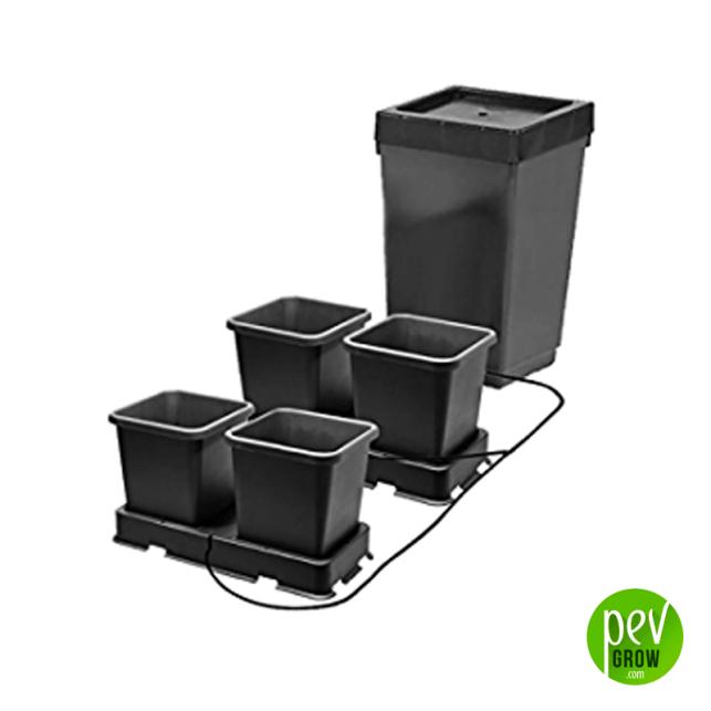Sistema de cultivo Hidropónico AutoPot Easy2grow - Kit 4 (4x Macetas 8,5L)
