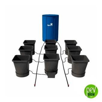 Sistema de cultivo Hidropónico Autopot Easy2grow Flexi-tank 9 Pot XL